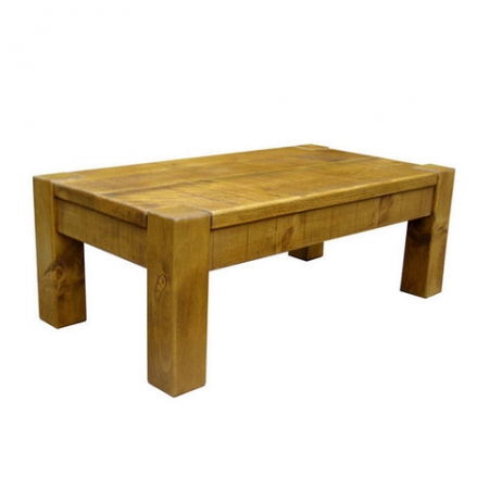 Chunky 4 Leg Coffee Table 110cm x 60cm