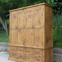 Wardrobe 4 doors 6 drawers