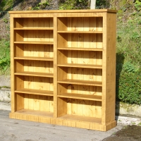 Plank bookcase