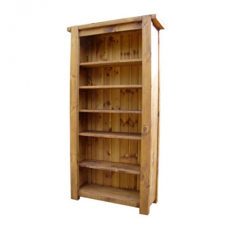 Rustic Chunky bookcase  82
