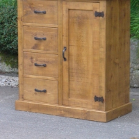 Storage cupboard with drawers