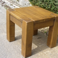 Chunky Lamp Table 22
